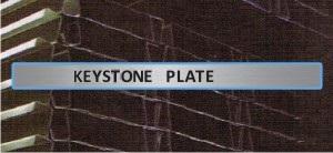Keystone Plate