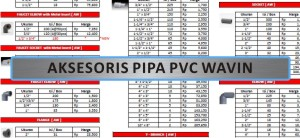Produk - Aksesoris Pipa - Aksesoris Pipa PVC Wavin