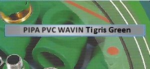 label-pipa-pvc-wavin-tigris-green