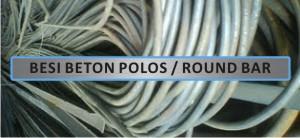 Produk - Besi Beton Round Bar - Besi Beton Polos Round Bar