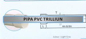 Produk - Pipa PVC Pipa Paralon - Pipa PVC Triliun
