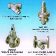 strainer reducing valve