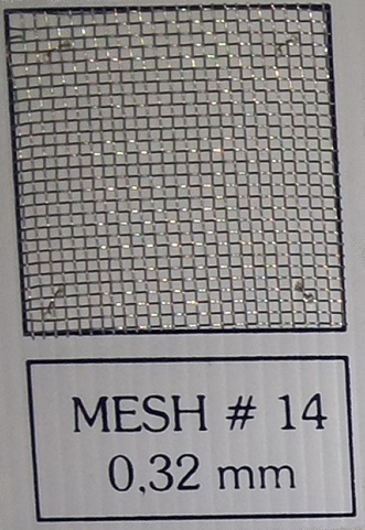 Mesh # 14 (0.32 mm) u1